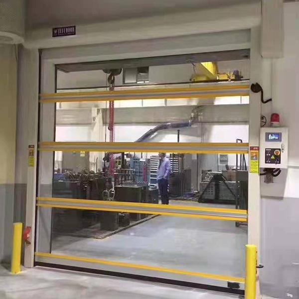 透明快速门
